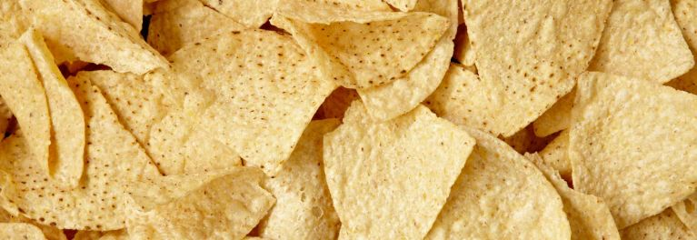 Tortilla chips are one example of GMOs in food