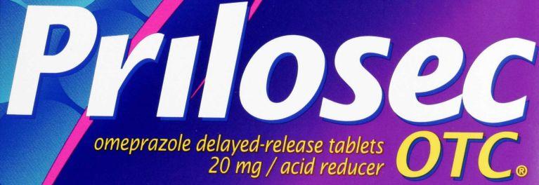 PPI A Prilosec OTC heartburn drug label