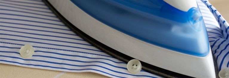 How to iron shirts, skirts, and dresses