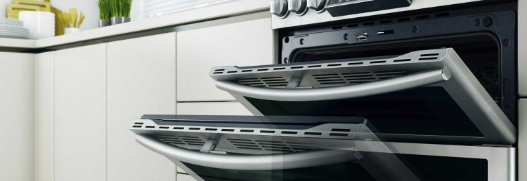 Samsung Dual Fuel Double Oven