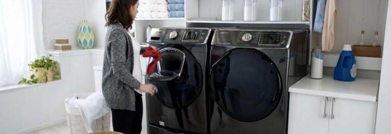 Washer with Samsung AddWash