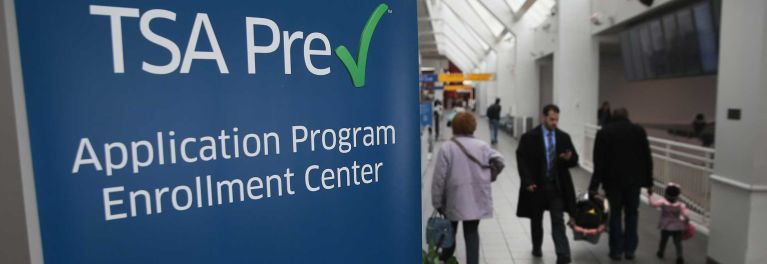 Travel easier with TSA PreCheck or Global Entry.
