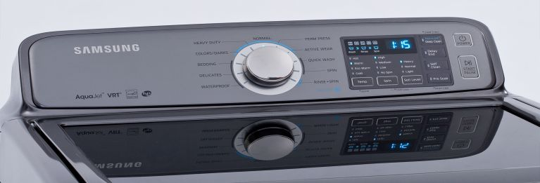 How to make your washer and dryer last like this Samsung top-loader.