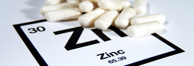 Taking zinc for colds, like the dietary supplement in this picture isn't a good idea.